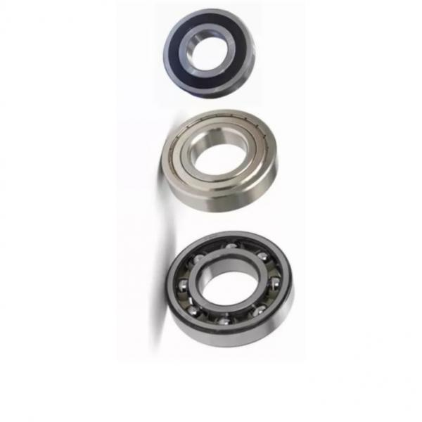 chrome steel ball bearing GCr15 wheel bearing 6000 zz bearing #1 image